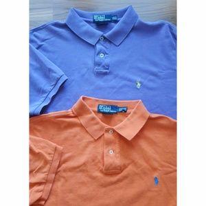 2 Ralph Lauren POLO Men's Short Sleeve Polo XXL